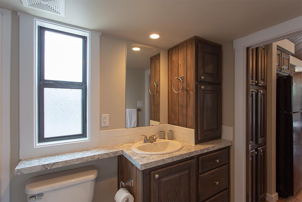 Master Bathroom of By the River Cabins